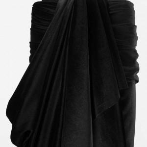 Black Velour Velvet