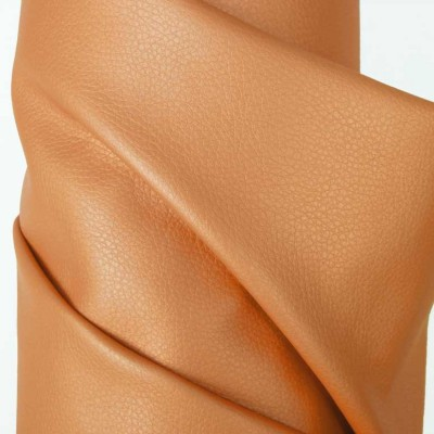 Peach Faux Leather