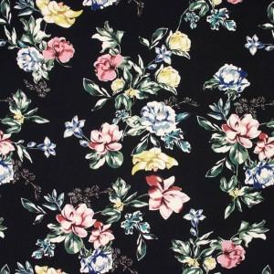 Floral Viscose Crepe