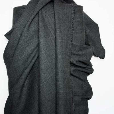 Grey Wool Suiting - Sample
