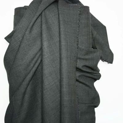 Grey Wool Suiting