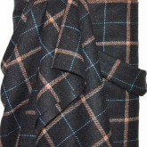 Charcoal Checked Wool
