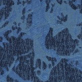 Jewel Blue Cloque & Chenille - Sample