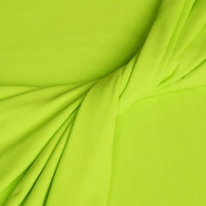 Lime Cotton & Lycra Jersey Fabric