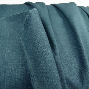Deep Airforce Enzyme Washed Linen
