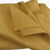 Mustard Enzyme Washed Linen
