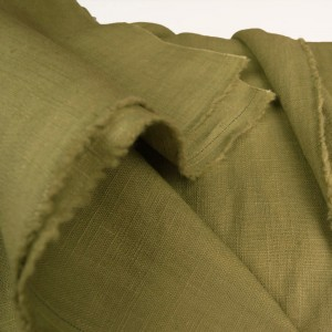 Chartreuse Enzyme Washed Linen