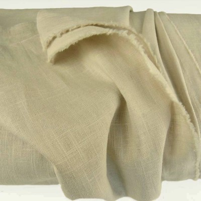 Putty Enzyme Washed Linen - Sample