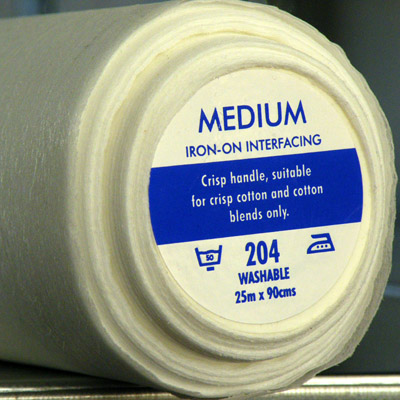 Medium Iron-On Interfacing