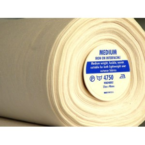 Woven Medium-Weight Fusible Interfacing